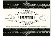 Cosmopolitan Roaring 20's Reception Cards