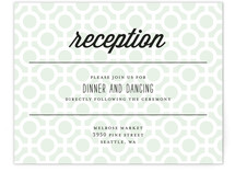 Mod Dots Reception Cards