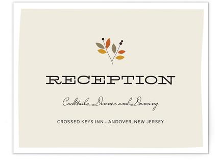 Meadow Reception Cards