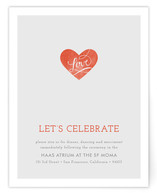 Heart on Our Sleeves Reception Cards
