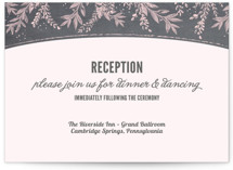 Woodland Romance Reception Cards