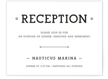 Established Union Reception Cards