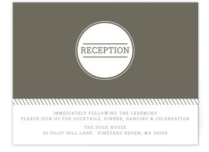Established Reception Cards
