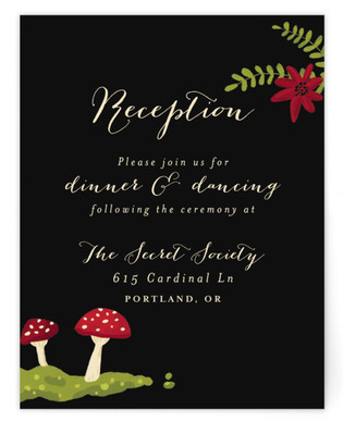 Bell Jar Reception Cards