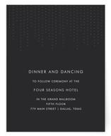 Starlit Nights Reception Cards