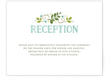 Botanical Reception Cards