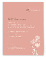 Rustic Queen Anne Reception Cards