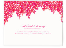 Bougainvillea Reception Cards