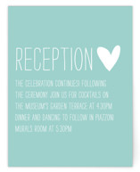 Passing Notes Reception Cards