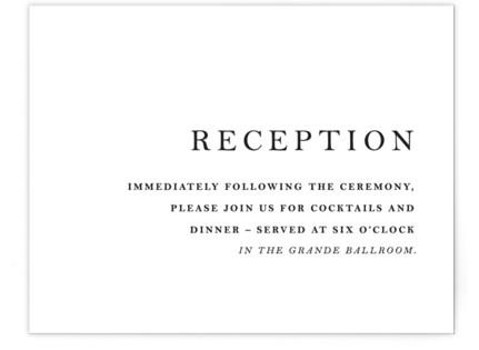 Sophistotype Reception Cards
