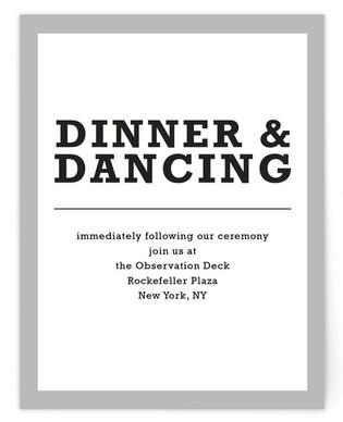 Modern Pop Art Reception Cards