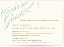 Winter Flourish Reception Cards