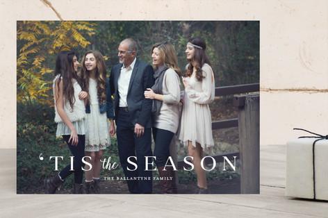 Tis the Season Christmas Photo Cards