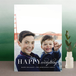Graceful Peace Christmas Photo Cards