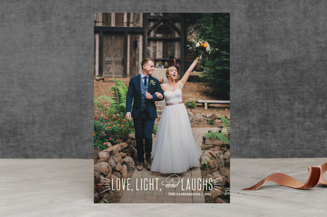 Joyful and Triumphant Christmas Photo Cards