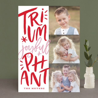 carols on eve Christmas Photo Cards