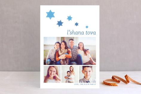 Cascading Rosh Hashanah Cards