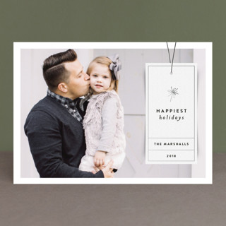 Simple Tag New Year's Photo Cards