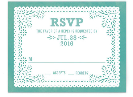Fiesta Folk Art RSVP Postcards