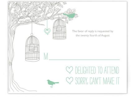 Love Let Loose RSVP Postcards
