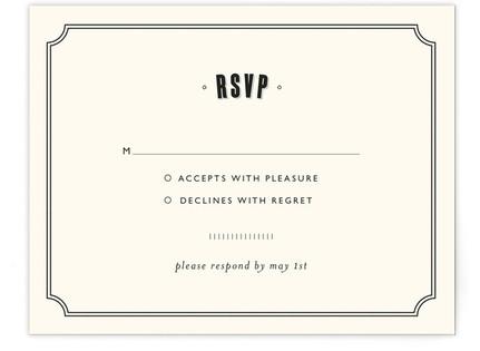 Bistro RSVP Postcards