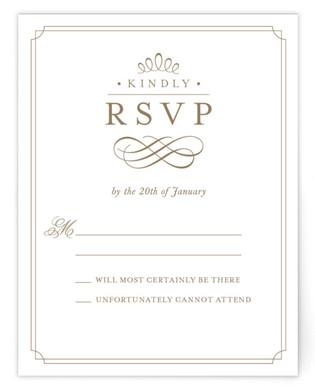 A Glamorous Affair RSVP Postcards