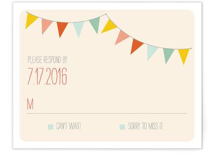 Barn Party! RSVP Postcards