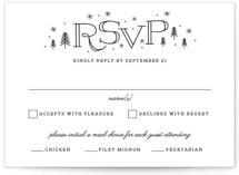 Adventurous RSVP Postcards