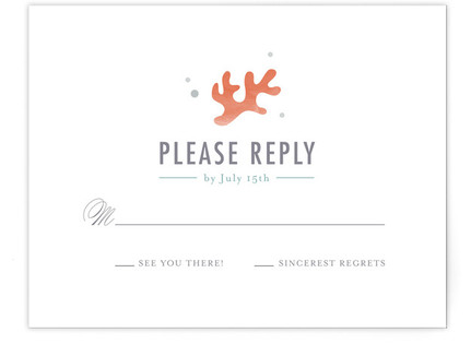 The Shore RSVP Cards