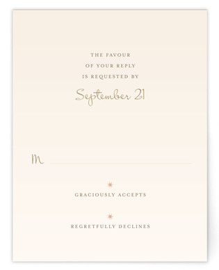 Enchanted Stars RSVP Cards