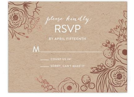 Miss Monica RSVP Cards