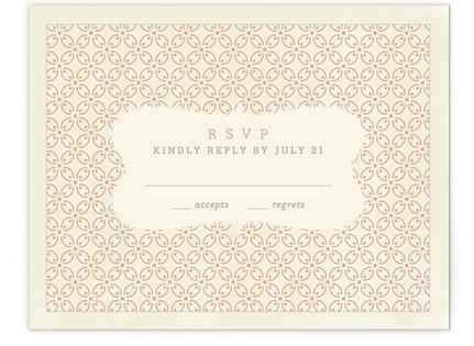 Central Park RSVP Cards