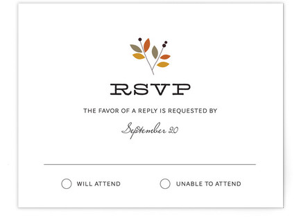 Meadow RSVP Cards