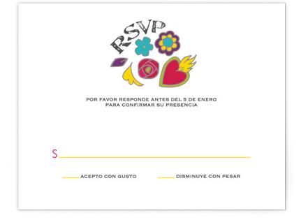 Dia de los Muertos RSVP Cards