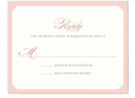 Mingle Graphic RSVP Cards