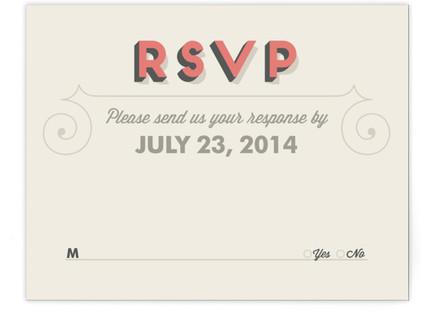 Celebrate Love RSVP Cards