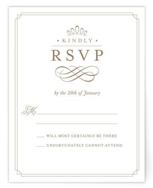 A Glamorous Affair RSVP Cards