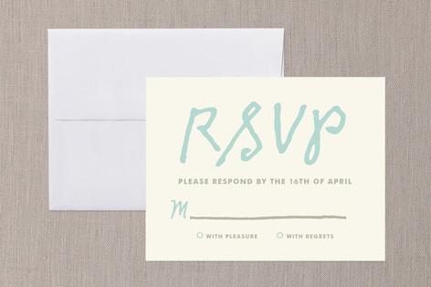 You+Me RSVP Cards