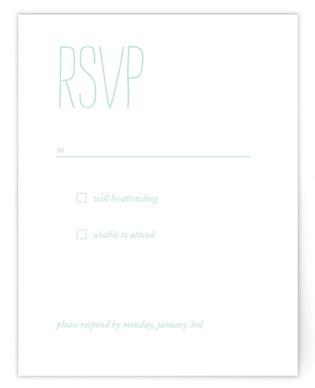 Forever RSVP Cards