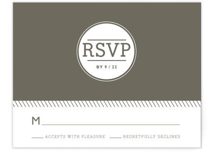 Established RSVP Cards
