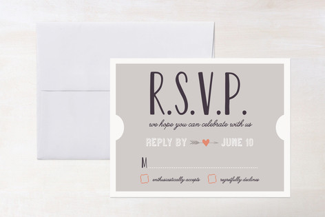 The Winning Ticket RSVP Cards