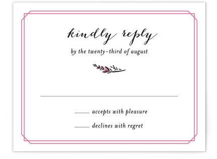 Grand Meadow RSVP Cards