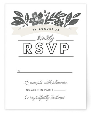 Painted Meadow RSVP Cards