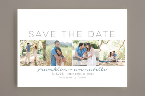 Simple Frames Save the Date Cards