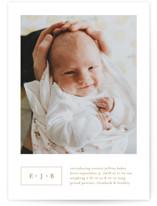Everett Birth Announcements