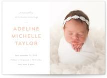 Sweet News Birth Announcements