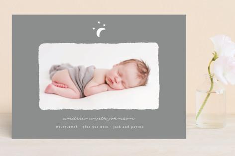 Little Moon Birth Announcements