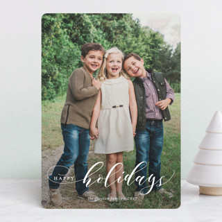 Merry Swash Holiday Photo Cards
