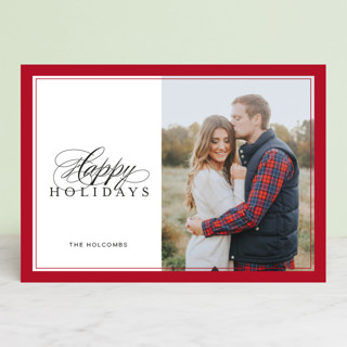 Sweet Tradition Holiday Photo Cards