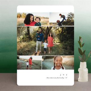 minimal noel Holiday Photo Cards